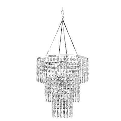 Tiara 1-Light Crystal Pendant