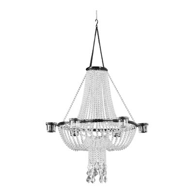 Opera Night 1-Light Crystal Pendant Shade Color: Crystal
