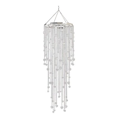 Spring Showers 1-Light Crystal Pendant Color: Crystal