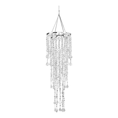 Sunset 1-Light Crystal Pendant Shade Color: Crystal