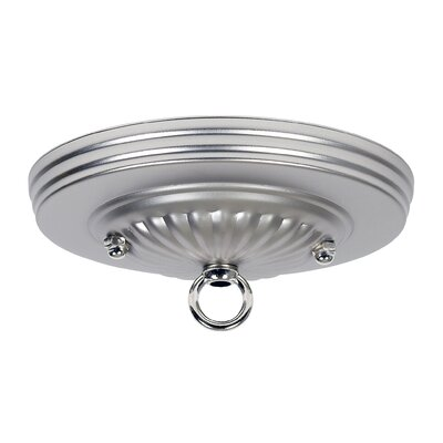 Hard Wire Mount Canopy Finish: Silver