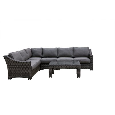 Donley Patio Sectional Set