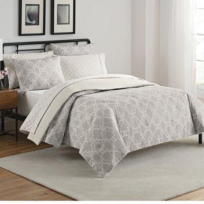 Fremont 7 Piece Reversible Comforter Set Size: Queen