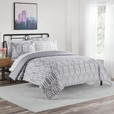 Cadence 7 Piece Comforter Set Size: King