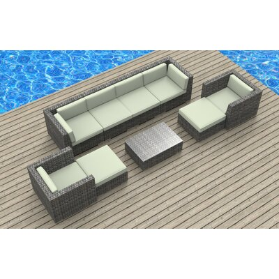 Karla 11 Piece Deep Seating Group with Cushion Fabric: Beige