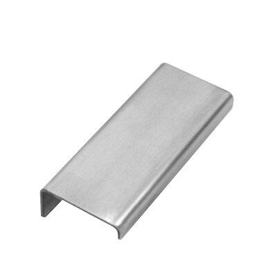 Stainless Steel Modern Pull 1 1/2? Finger pull WIN35096