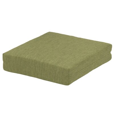 Deep Seating Seat Cushion Fabric: Green