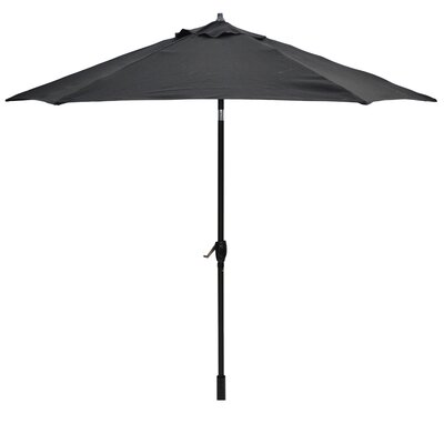 9 Breen Market Umbrella Fabric: Black