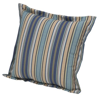 Quebec Stripe Pacific Deep Seating Outdoor Throw Pillow