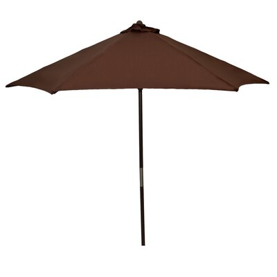 9 Market Umbrella Fabric: Brown