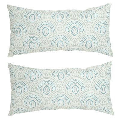Scallop Outdoor Lumbar Pillow