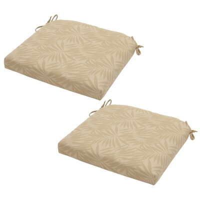 Roux Palm Outdoor Seat Cushion