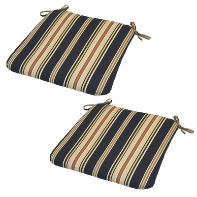 Sachiko Stripe Outdoor Seat Cushion