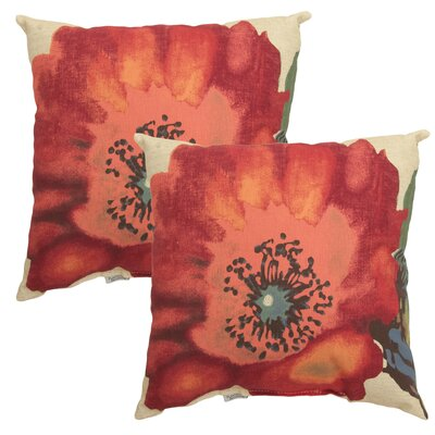 Bridgetown Outdoor Throw Pillow