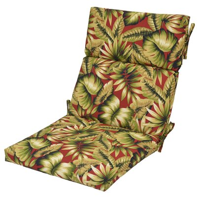 Arbury Leaf Outdoor Dining Chair Cushion