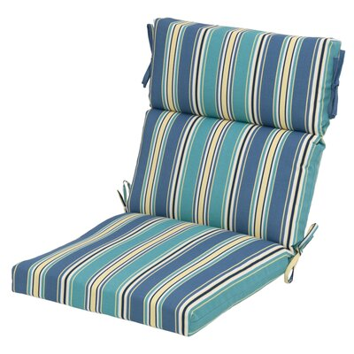 Aranmore Reversible Outdoor Fabric Dining Chair Cushion