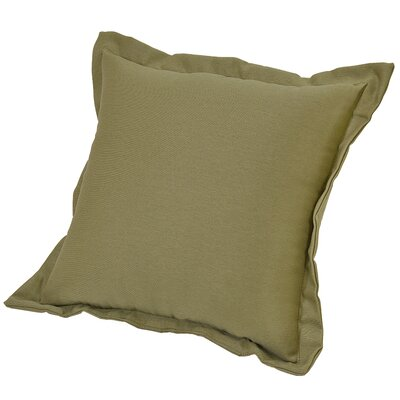 Brewer Deep Seating Outdoor Throw Pillow Color: Celery