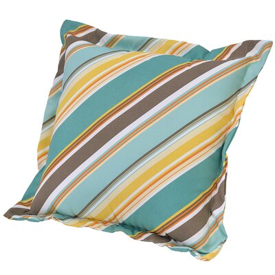 Allegra Stripe Deep Seating Outdoor Throw Pillow