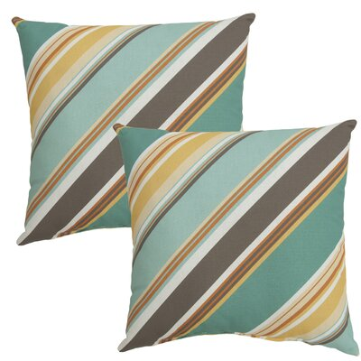Allegra Outdoor Throw Pillow