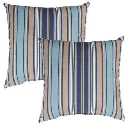 Quebec Outdoor Throw Pillow