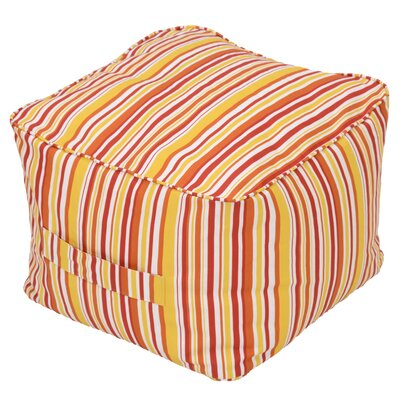 Bearse Pouf Self Welt Ottoman (Set of 2) Fabric: Newport Stripe