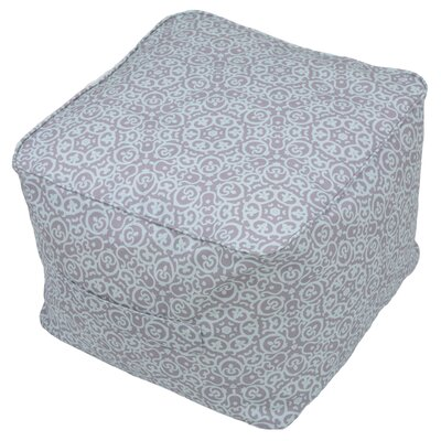 Pouf Self Welt Ottoman (Set of 2) Fabric: Chelsea Medallion