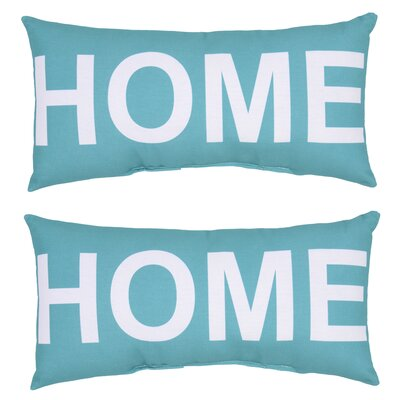 Bendel Home Outdoor Lumbar Pillow (Set of 2)