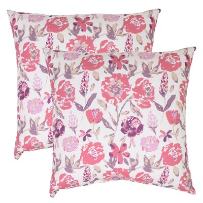 Bilel Floral Outdoor Throw Pillow