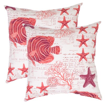 Pamula Outdoor Throw Pillow (Set of 2)