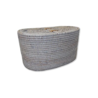 Rattan Tissue Box Cover Finish: White Wash