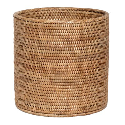 Decorative Rattan Wide Cylinder