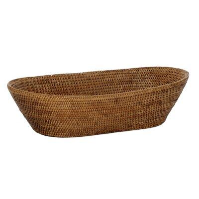 Rattan Basket Size: 21 x 10 x 5
