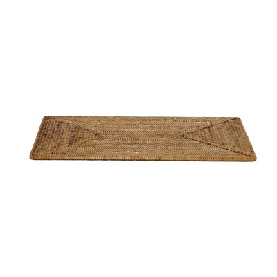 Rattan Large Rectangular Placemat