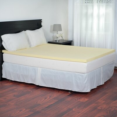 Magic 2 Memory Foam Mattress Topper Size: Full