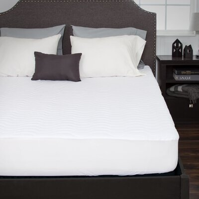 Down Alternative Fitted Mattress Pad Size: Twin