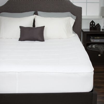 Fleece Fitted Mattress Pad Size: King