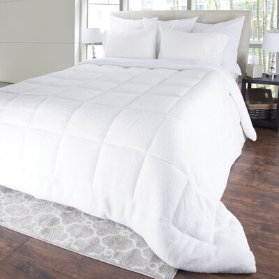Sherpa All Season Down Alternative Comforter Size: King