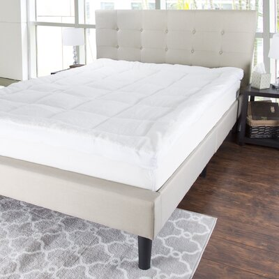Sherpa 3 Polyester Mattress Topper Size: Queen