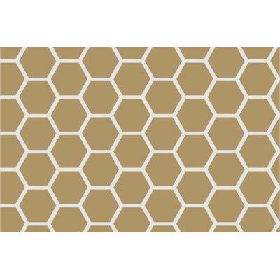 3 Piece Honeycomb Sheet Crib Bedding Set Color: Khaki