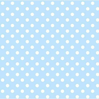 Sheetworld Pastel Polka Dots Woven Portable Mini Fitted Crib Sheet