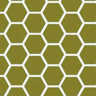 Honeycomb Fabric By The Yard Color: Sage