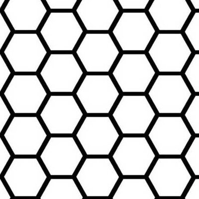 Honeycomb Fabric By The Yard Color: White