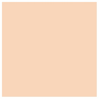 Jersey Knit Fabric By The Yard Color: Orange Sherbert