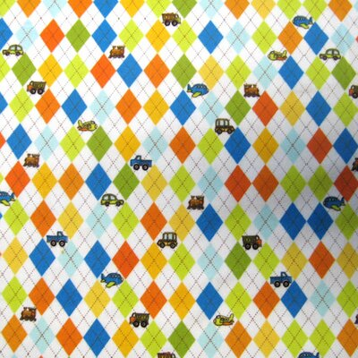 Argyle Transport Fabric By The Yard
