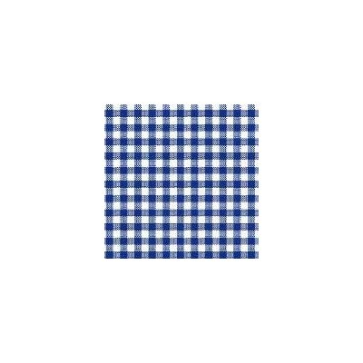 Primary Gingham Woven Fabric By The Yard Color: Navy