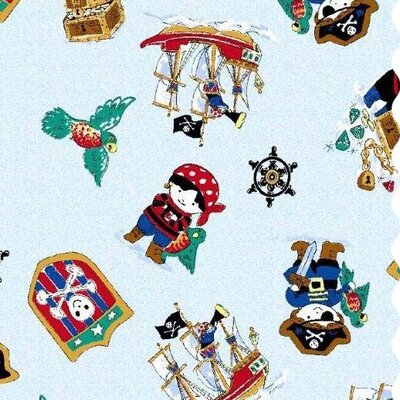 Pirates Fabric By The Yard