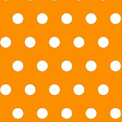 Polka Dots Fabric By The Yard Color: Gold