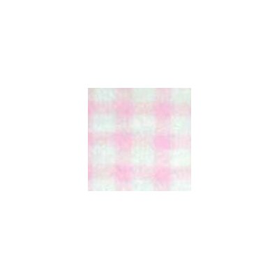 Gingham Jersey Fabric By The Yard Color: Organic Pink