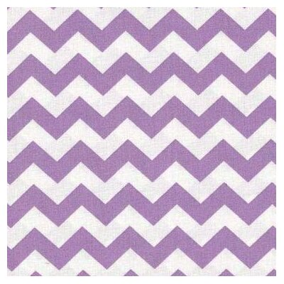 Chevron Zigzag Fabric By The Yard Color: Lilac