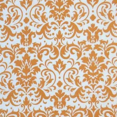 Damask Fabric By The Yard Color: Gold